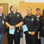 Daniel Tunstall, Officers Williams and Watkins, Steve and Linda Broeder